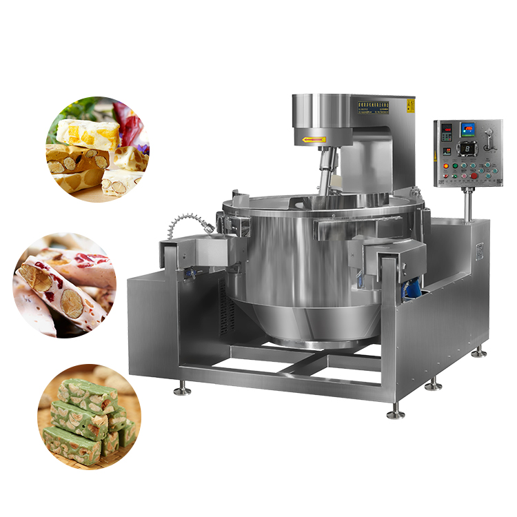 Full Automatic Sugar Stirring Cooking Mixer Machine
