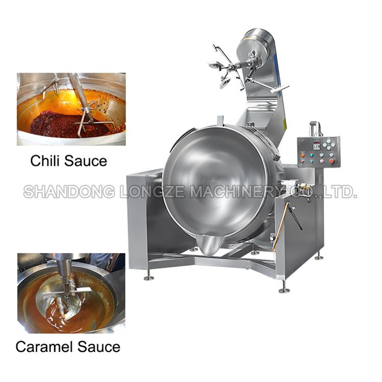 Gas Type Cooking Mixer Machine For Meat And SoupCapacity 200L iameter1000mm