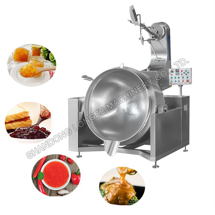 Automatic Cooking Machine With Stirring_Food Cooking Mixer Machine Manufacturer