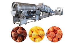 Automatic Popcorn Production Line Operation Steps